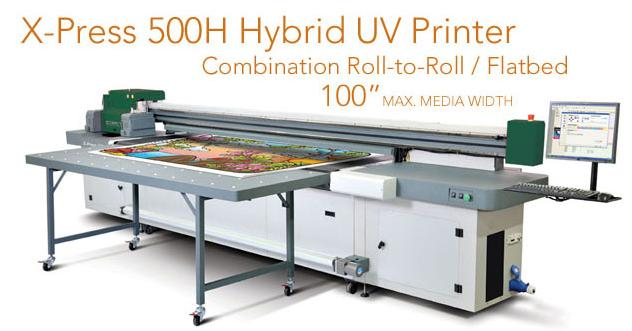 Wide Format UV Digital Printers
